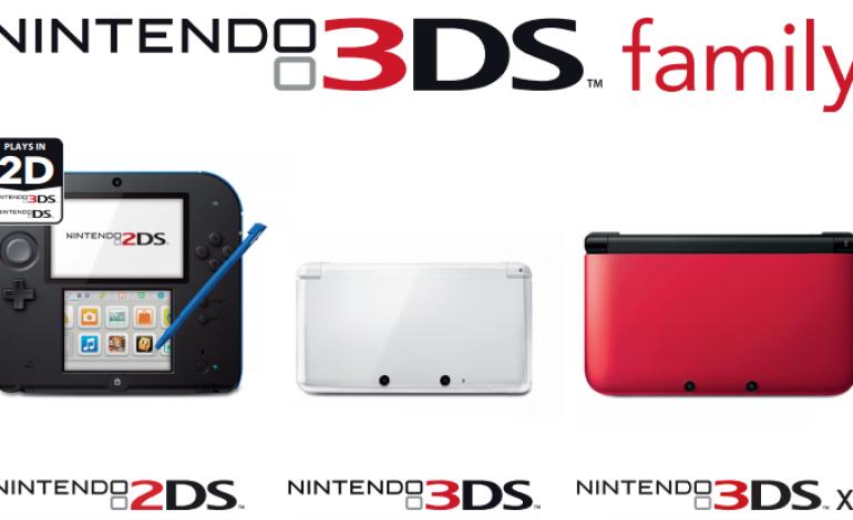 Nintendo 2DS Vs Nintendo 3DS