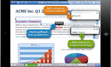 Δωρεάν το QuickOffice για iOS και Android συσκευές
