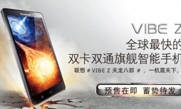 Lenovo Vibe Z, με Snapdragon 800 και δύο κάρτες sim