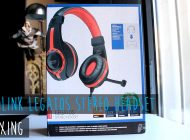 Legatos Stereo Headset Unboxing: Είναι το καλύτερο budget gaming headset;