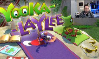 Ρεύτηκε στα μούτρα μου | Yooka-Laylee Gameplay