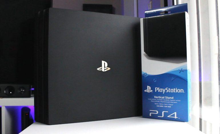 Στηρίζοντας όρθιο το PS4 Pro (Vertical Stand)