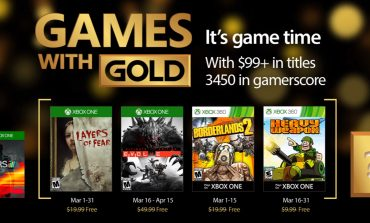 Games with Gold: Τα δωρεάν παιχνίδια Μαρτίου