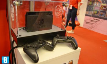 Το Busted στο Launch Event του Nintendo Switch