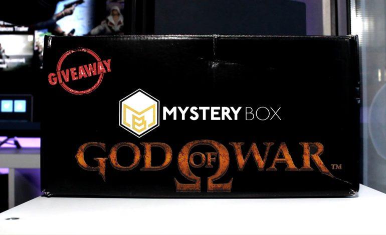 Giveaway το τρομερό Mystery Gamer (God of War)
