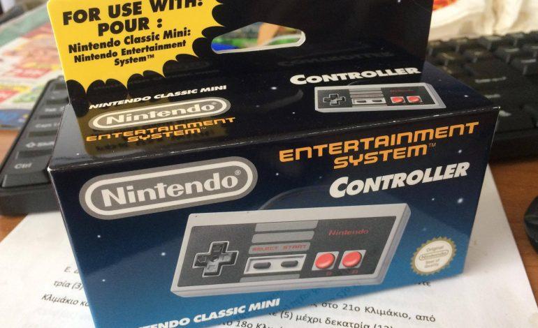Το χειριστήριο του NES Mini ήρθε επιτέλους στην Ελλάδα (Links)