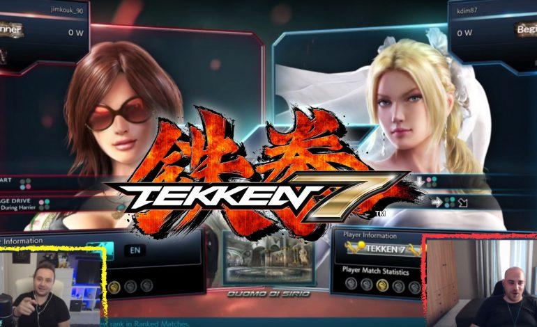 Δυο noob-άδες παίζουν Tekken 7 | Gameplay Video