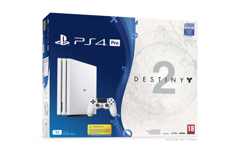 Ανακοινώθηκε Glacier White PS4 Pro πακέτο με το Destiny 2
