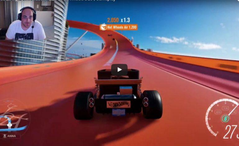 Καίει το λάστιχο στο Forza Horizon 3 Hot Wheels DLC   Gameplay