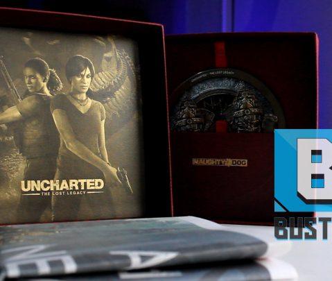 Το πανέμορφο Press Kit του Uncharted: The Lost Legacy | Unboxing