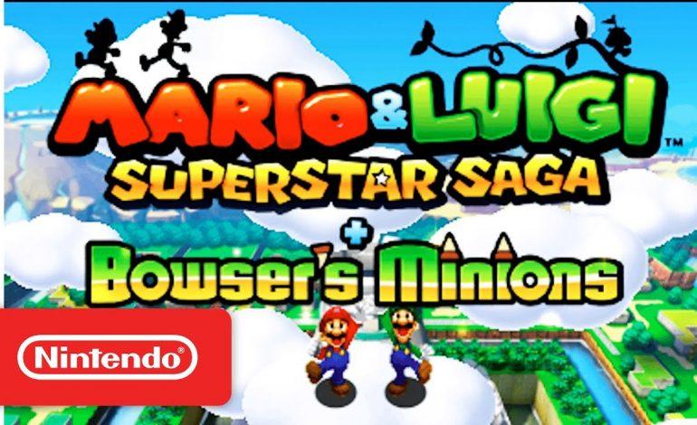 Δυο νέα Amiibo για το Mario & Luigi Superstar Saga+Bowser's Minions