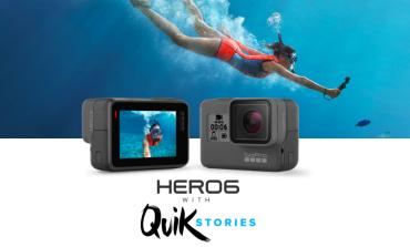 Η GoPro ανακοίνωσε επίσημα την Hero6 Black με δυνατότητα εγγραφής 4Κ βίντεο στα 60fps!