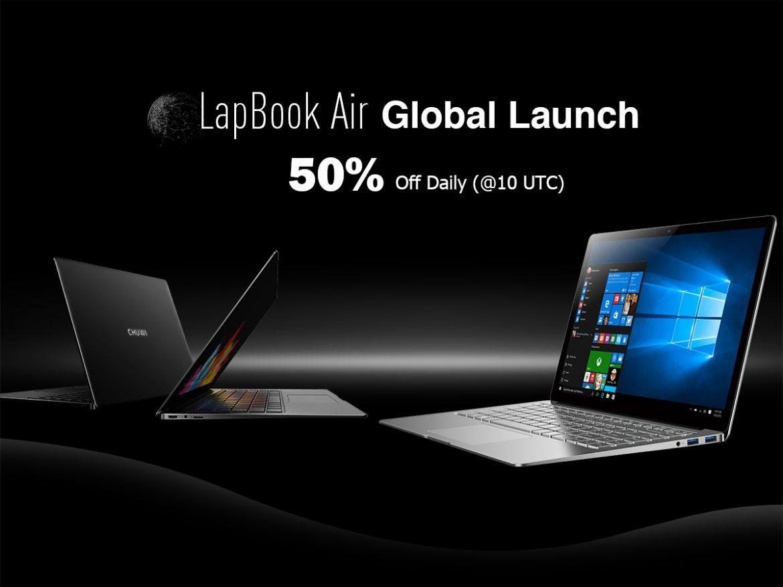 Πρώτη παγκόσμια κυκλοφορία του CΗUWI LapBook Air