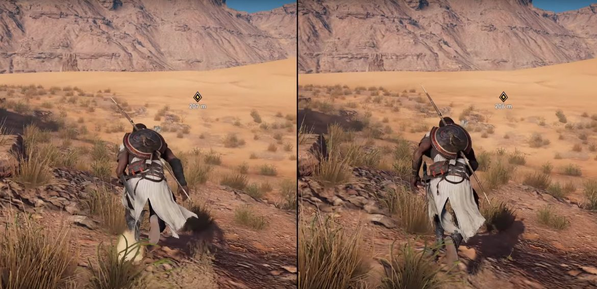 Assassin's Creed Origins: Σύγκριση γραφικών μεταξύ Xbox One X vs PS4 Pro vs PC
