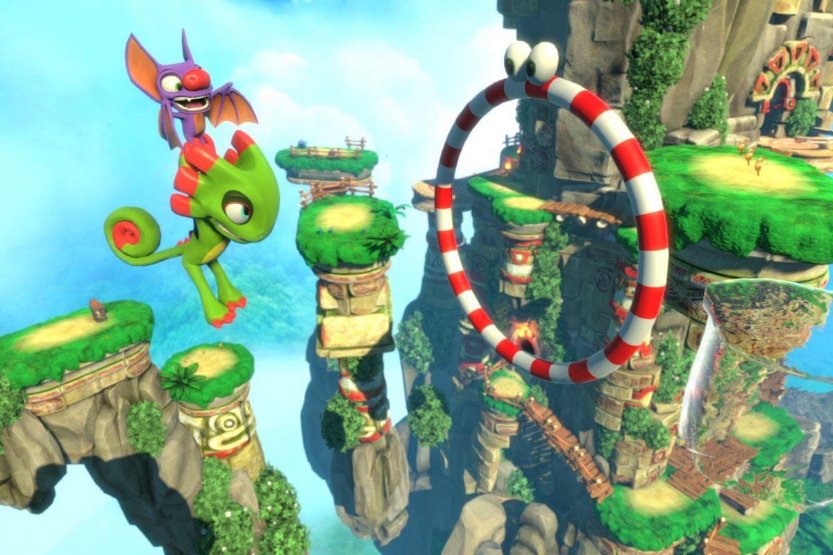 Ημερομηνία κυκλοφορίας για το Yooka-Laylee στο Nintendo Switch