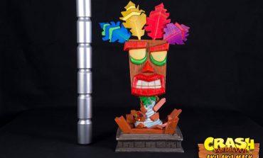 Η μάσκα Aku Aku κάνει την εμφάνισή της σε Real Size Statue