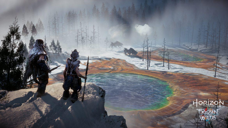 """""""Από τις πιο εντυπωσιακές 4K HDR εμπειρίες"""" το Horizon Zero Dawn: The Frozen Wilds"""