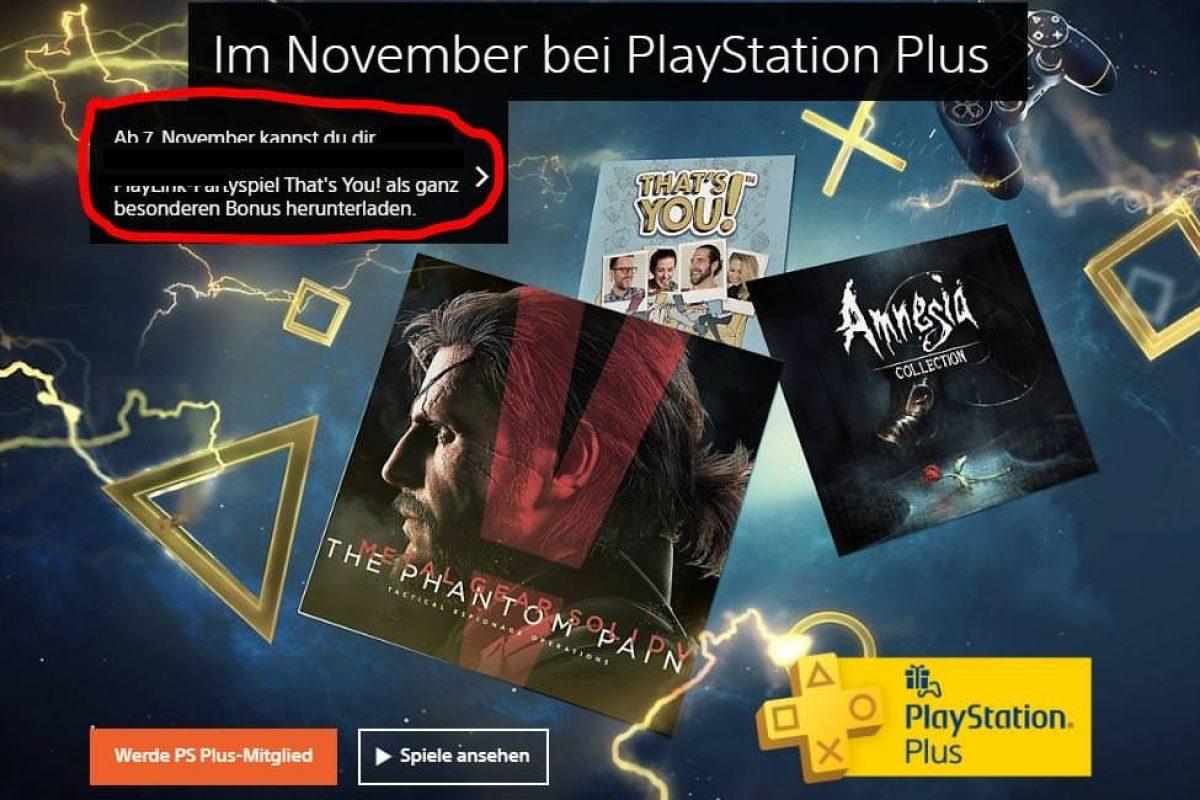 Διέρρευσαν τίτλοι από τα δωρεάν παιχνίδια του PlayStation Plus Νοεμβρίου;