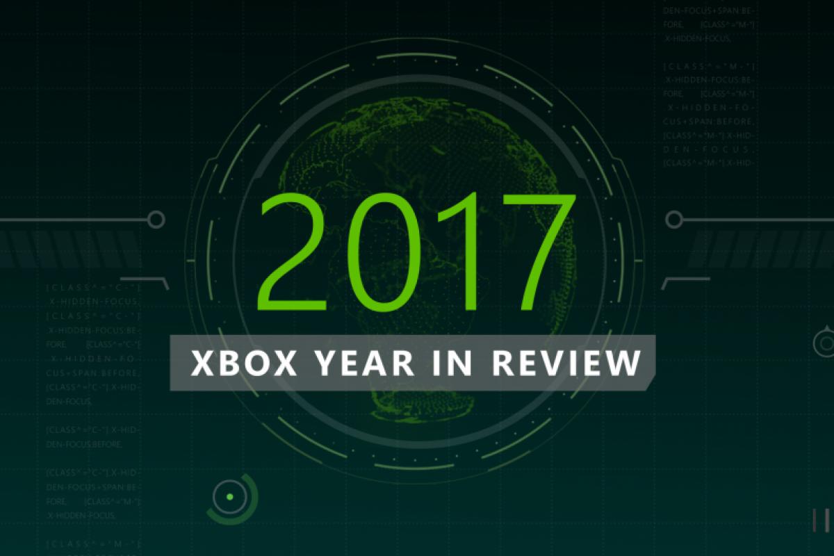 Δείτε την Xbox gaming ανασκόπηση του 2017