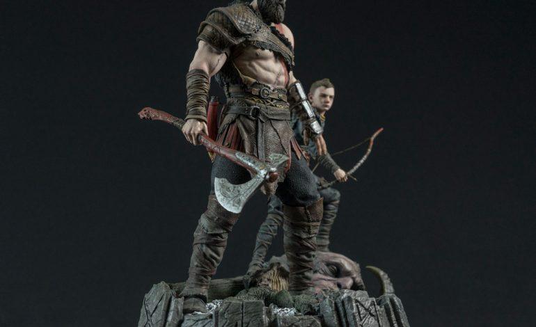 Το καταπληκτικό αγαλματίδιο του God of War με κεντρικά πρόσωπα τον Kratos και τον Αtreus