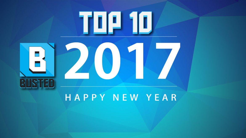Τα 10 πιο δημοφιλή άρθρα του Busted.gr για το 2017
