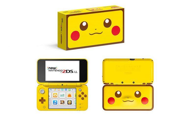 To νέο Pikachu 2DS XL κυκλοφορεί σε λίγες μέρες στην Βόρειο Αμερική