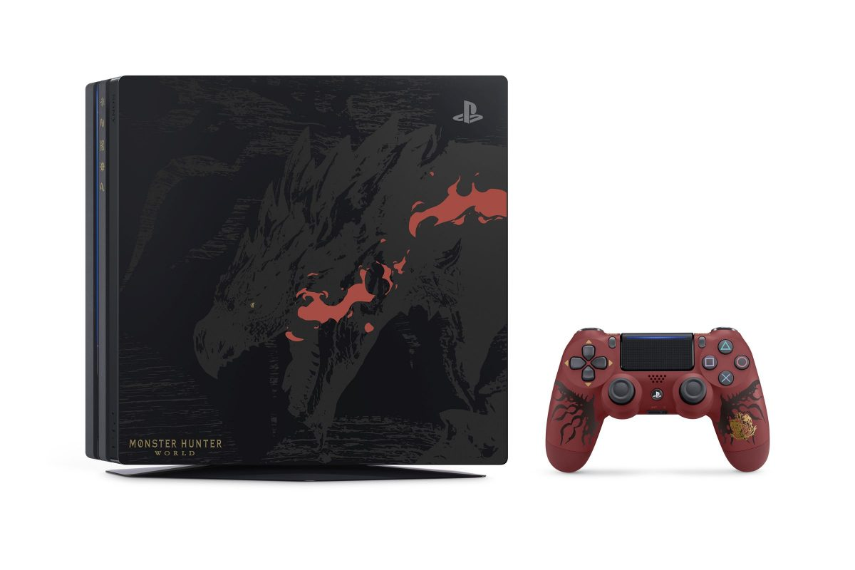 Monster Hunter: World | Κυκλοφορούν στην Ιαπωνία τα πρώτα PS4 Bundles μαζί με το Rathalos DualShock 4