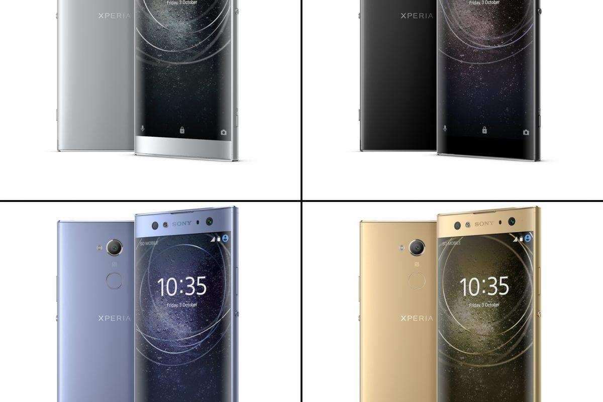 [CES 2018]: Ανακοινώθηκαν τα νέα Sony Xperia XA2 και Xperia XA2 Ultra