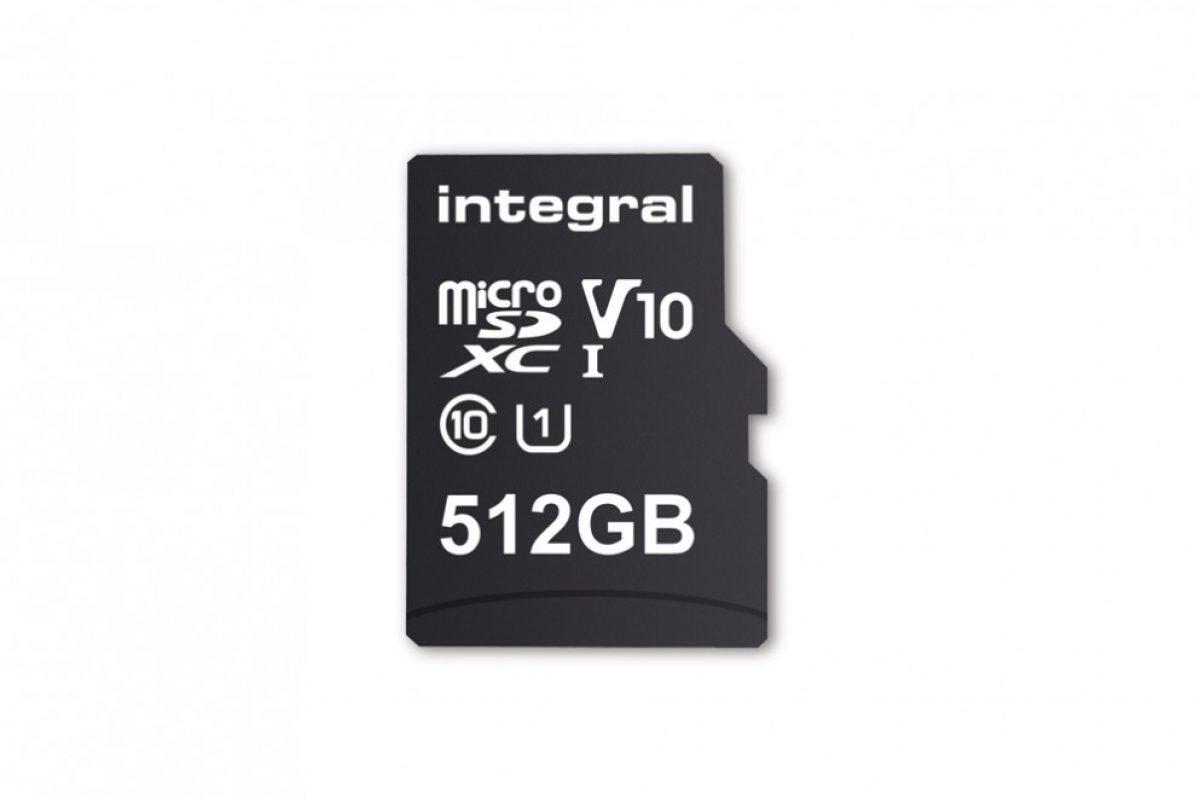 Η Integral ανακοίνωσε την microSD 512GB και θα κυκλοφορήσει τον Φεβρουάριο