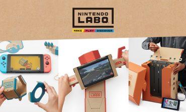 Αφήστε ντραμς,κιθάρες και πιάστε το Nintendo Labo! (Video)