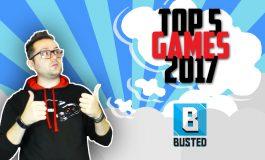 Τα δικά σας Top 5 Games του 2017