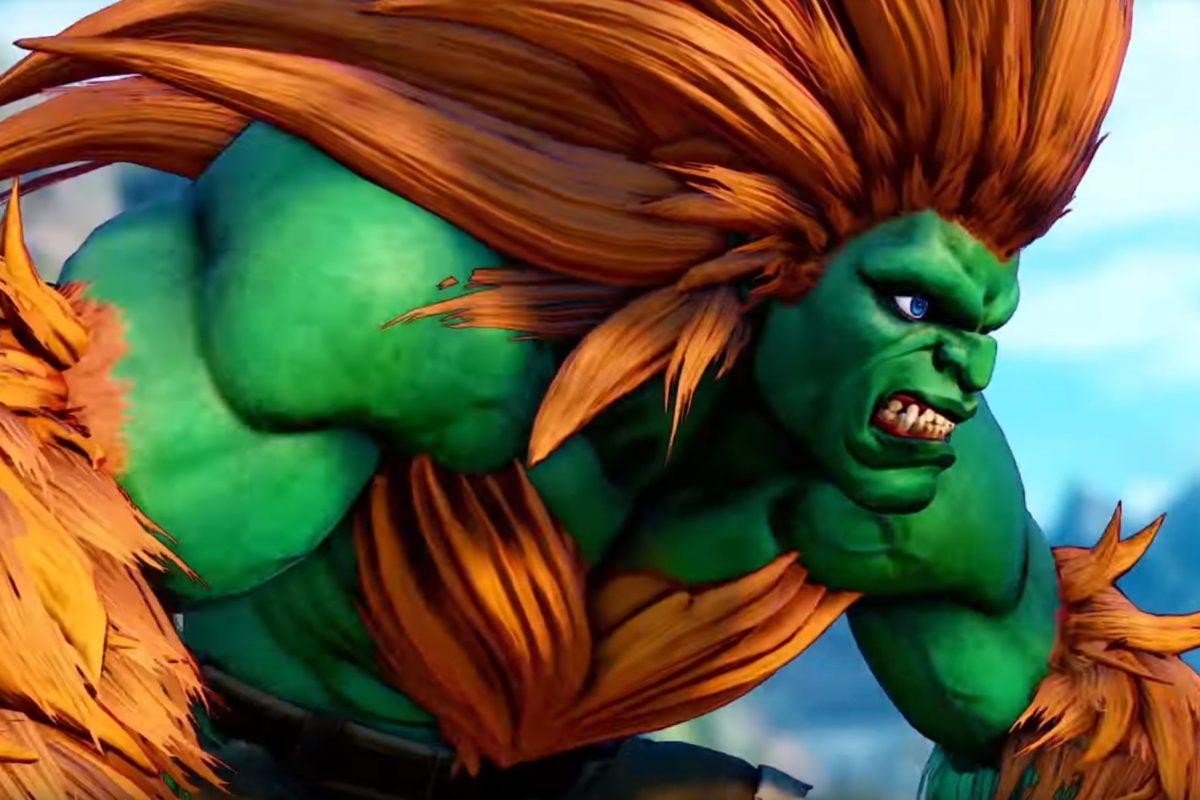 O Blanka στις 20 του μήνα στο Street Fighter V
