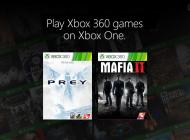 Τα Mafia 2 και original Prey πλέον με backward υποστήριξή στο Xbox One