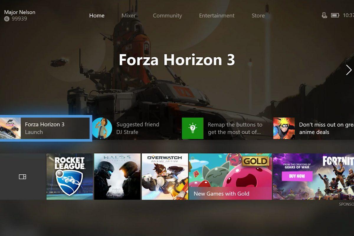 Το Update 1802 του Xbox One φέρει σημαντικές προσθήκες