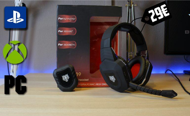 Ασύρματο Gaming Headset των 29€