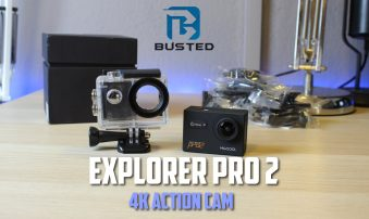 4K Action Camera των 56€ | Explorer Pro 2
