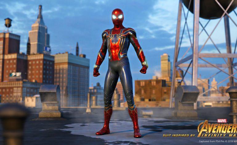 H Insomniac αποκάλυψε το Iron Spider Suit προς τιμήν των Avengers   Video  