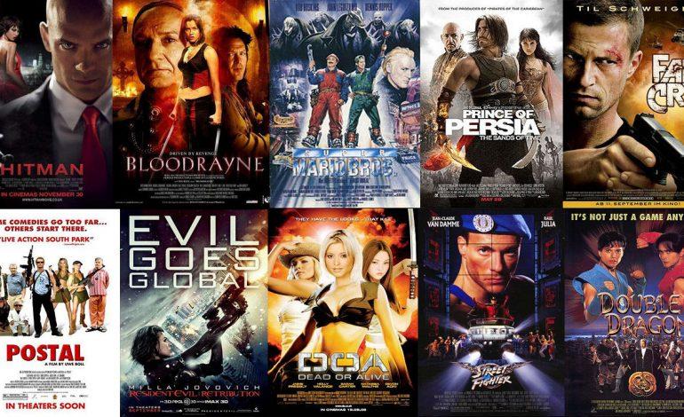 Όλες οι live-action ταινίες που βασίστηκαν σε Video Games (Χρονολογικά) | Part 1