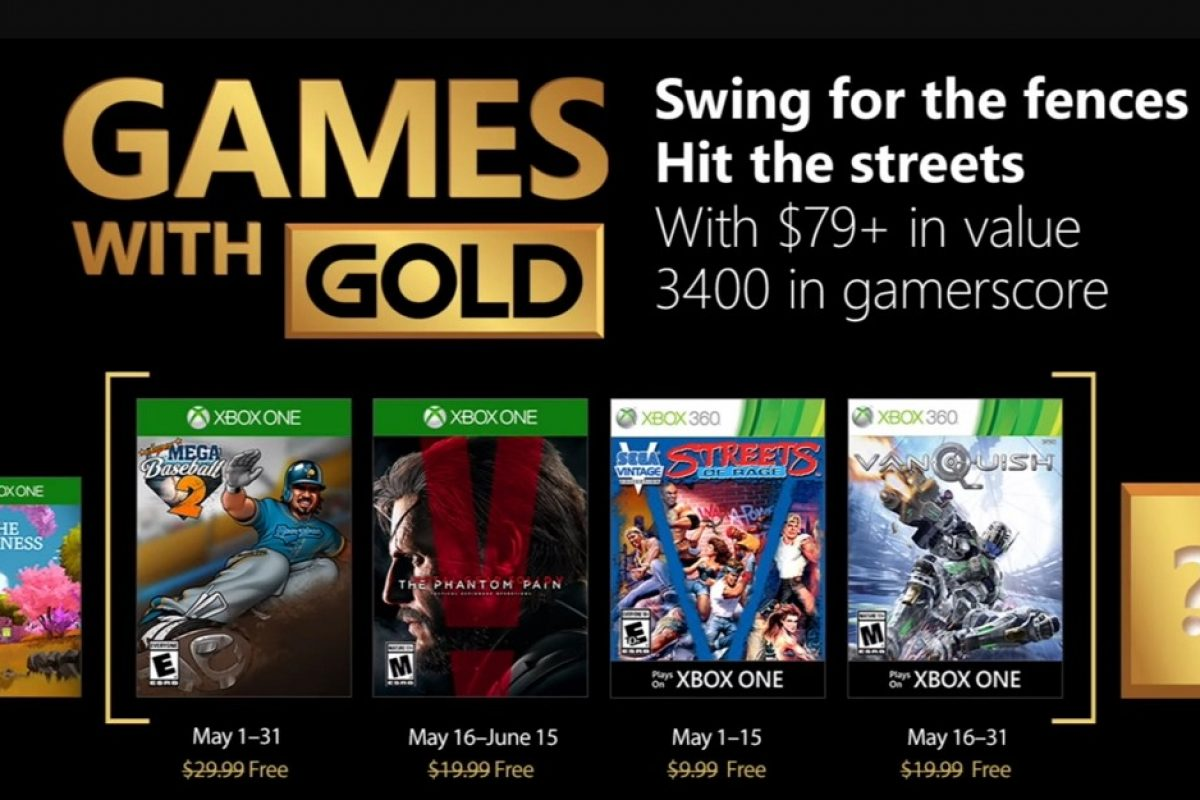 Games with Gold: Τα δωρεάν παιχνίδια Μαΐου 2018