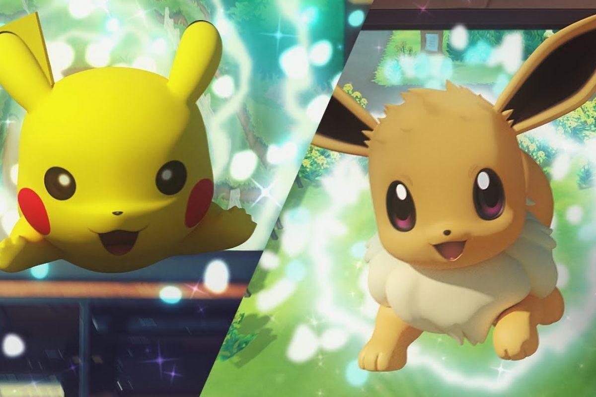 Τα Let's Go Pikachu και Let's Go Eevee είναι γεγονός (Video)