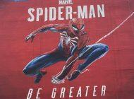 Η τεράστια τοιχογραφία του Spider-Man στην E3 είναι έτοιμη και είναι υπέροχη!