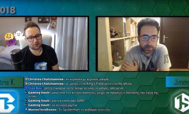 Ανοίξαμε την E3 2018 με Hangout LIVE