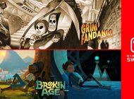Τα Grim Fandango και Broken Age έρχονται στο Nintendo Switch