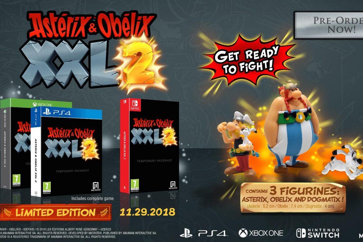 Οι Asterix & Obelix επιστρέφουν σε νέες gaming περιπέτειες