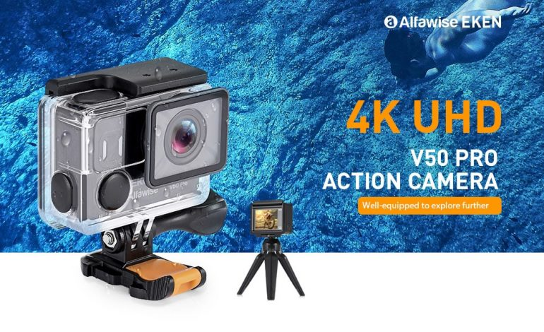 Gadget Deals: 4K Action Cam, Smart Sport Watch και Selfie Stick