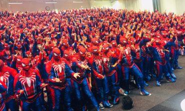 Ντύθηκαν Spider-Man και έσπασαν το παγκόσμιο ρεκόρ!
