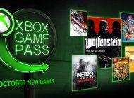 Xbox Game Pass: Τα παιχνίδια που θα προστεθούν τον Οκτώβριο