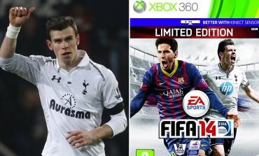 O Gareth Bale στο εξώφυλλο του Fifa 14