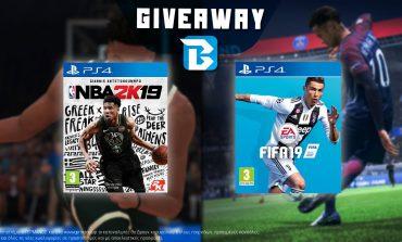 Διαγωνισμός NBA 2K19 & FIFA 19