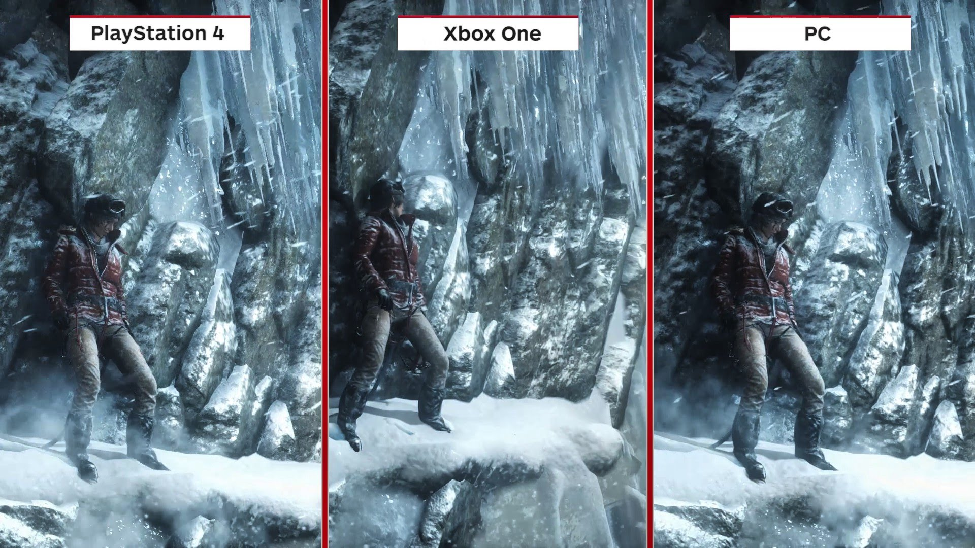 Rise Of The Tomb Raider Playstation 4 Xbox One Sony Ps4 1080p Anti Aliasing Texture Filtering Pixel Blur